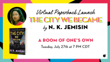 City We Became launch event